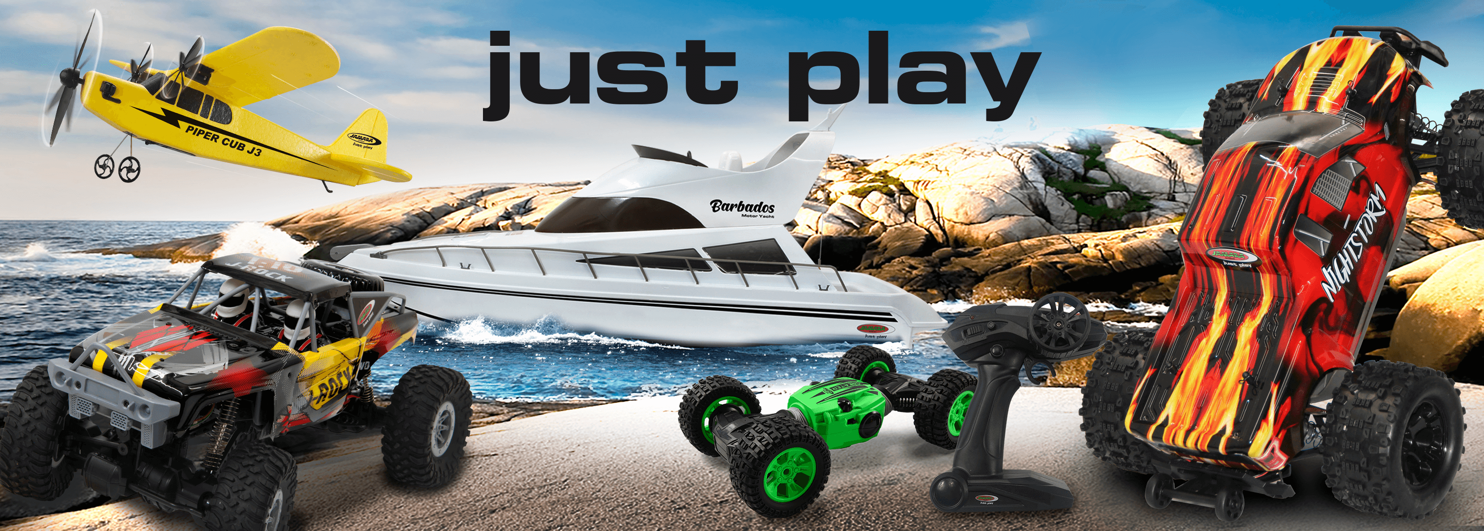 Jamara RC Models - The ultimate fun for adults and children or young and old